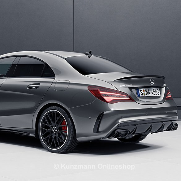 cla 45 amg facelift flaps aero package facelift rear. Black Bedroom Furniture Sets. Home Design Ideas