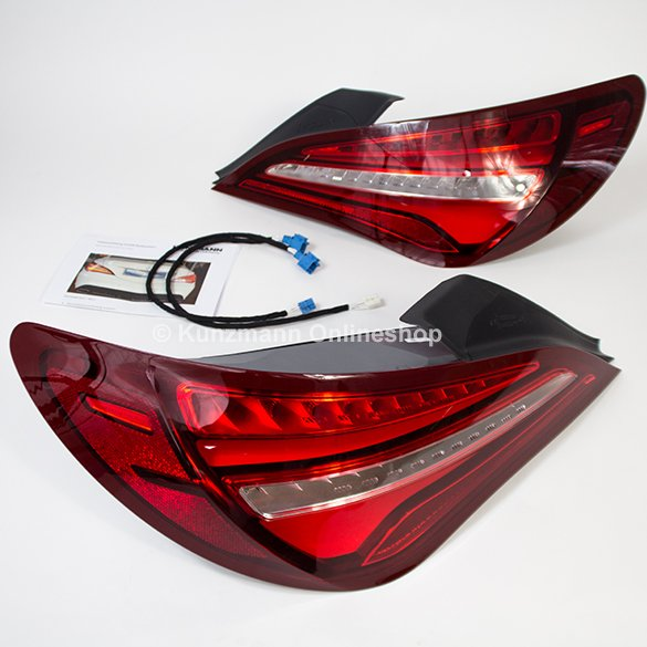 LED Facelift Rückleuchten Satz CLA C117 X117 Original Mercedes-Benz Umrüstung Set