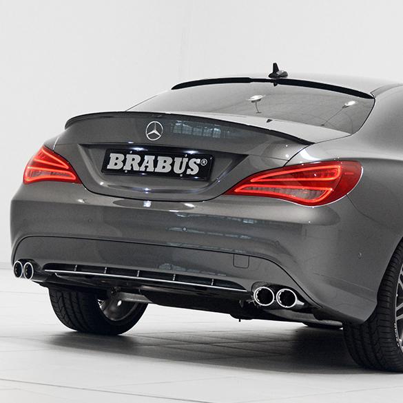 2014 Mercedes Benz Cla Class Camshaft: Brabus Fold Exhaust System C 117 CLA 250 Mercedes-Benz CLA