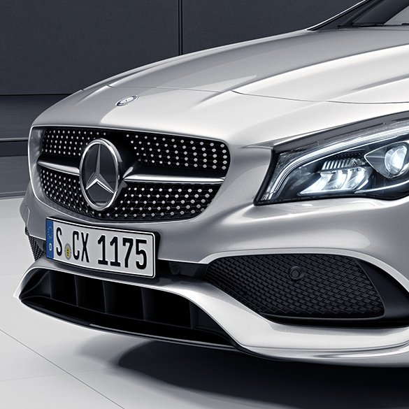Diamant-Kühlergrill CLA C117/X117 Facelift Mercedes-Benz