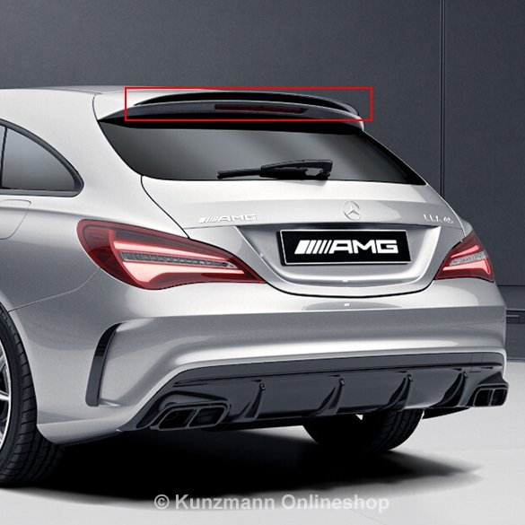 cla 45 amg dachkantenspoiler cla shooting brake x117. Black Bedroom Furniture Sets. Home Design Ideas