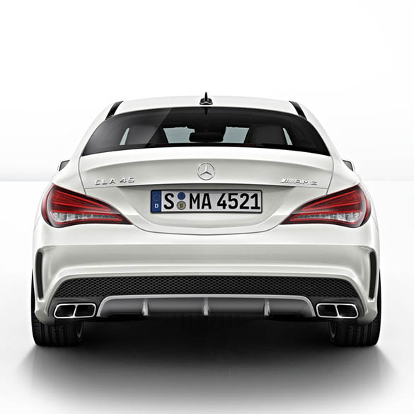 cla 45 amg performance exhaust tips cla w117 genuine. Black Bedroom Furniture Sets. Home Design Ideas
