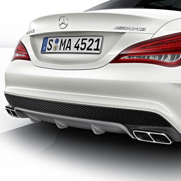 CLA 45 AMG Performance Exhaust Tips | CLA W117 | genuine Mercedes-Benz