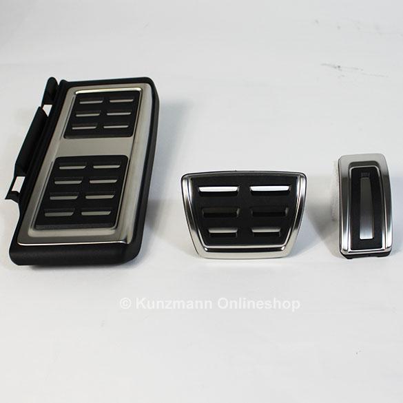 pedalset edelstahl automatik original vw golf sportsvan. Black Bedroom Furniture Sets. Home Design Ideas