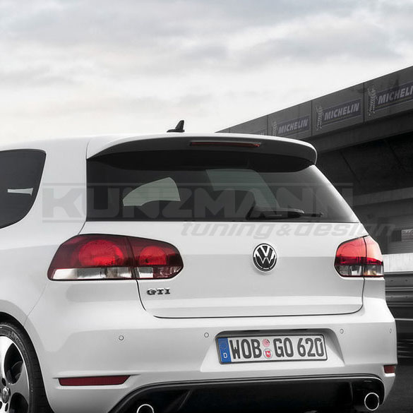 dachspoiler heckspoiler golf 6 vi vw originalteil. Black Bedroom Furniture Sets. Home Design Ideas