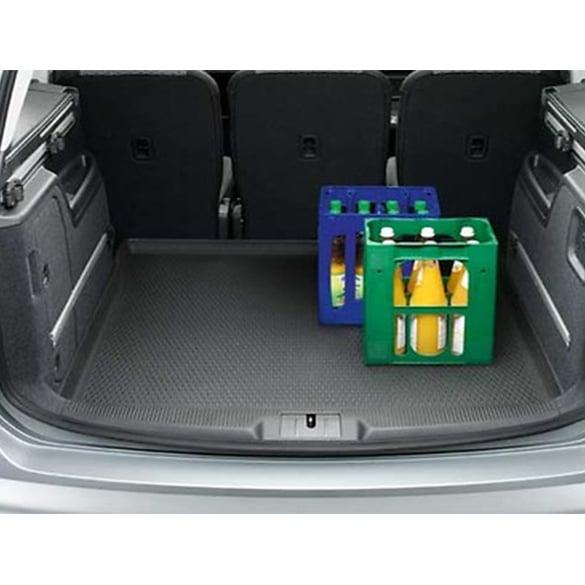 Original Volkswagen Gepäckraumeinlage schwarz Sharan 7N 5-Sitzer