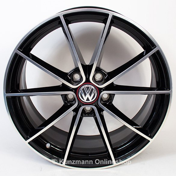 18 inch rims belvedere vw golf 7 vii gti clubsport. Black Bedroom Furniture Sets. Home Design Ideas