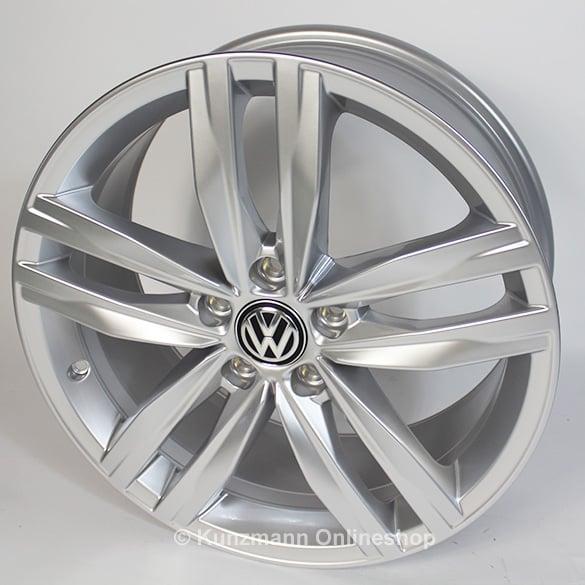 18 inch wheels set durban 5 twin spoke vw golf vii 7 original