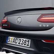 e 53 amg logo e klasse c238 a238 s213 w213 original. Black Bedroom Furniture Sets. Home Design Ideas