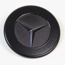 front emblem schwarz matt motorhaube original mercedes benz. Black Bedroom Furniture Sets. Home Design Ideas