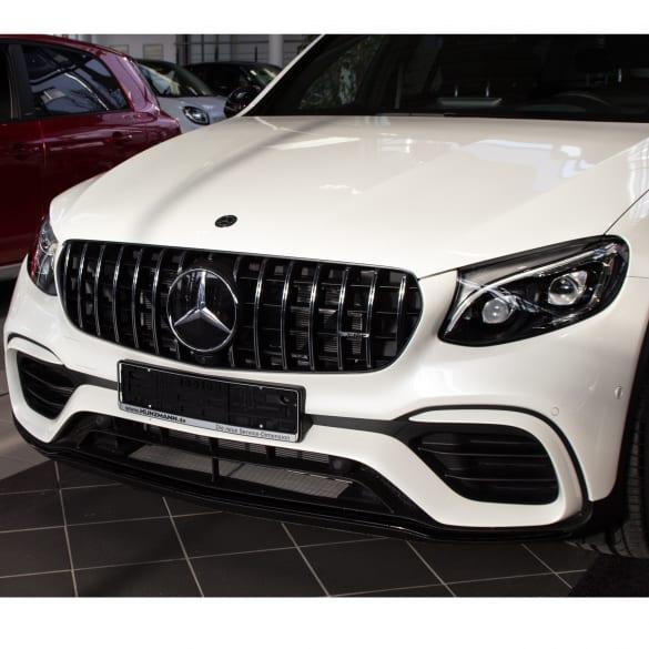 2019 Mercedes Benz Glc Coupe Camshaft: GLC 63 AMG Frontbumper Panamericana Grill Mercedes-Benz