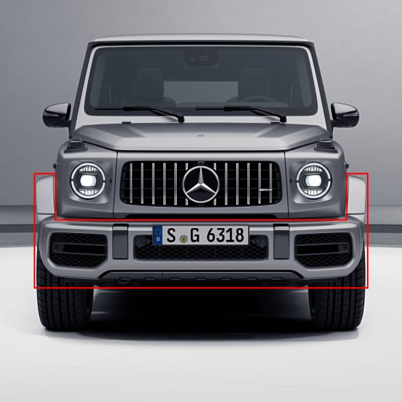 G 63 AMG front bumper G-Class 463A facelift genuine Mercedes-Benz
