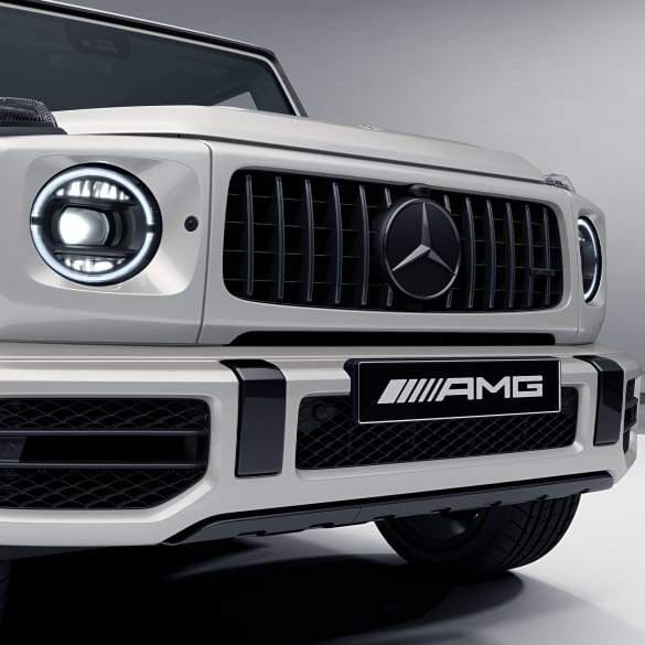 Dark Chrome Panamericana radiator grill AMG G 63 W463A genuine Mercedes-AMG