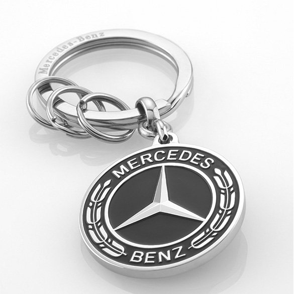 key ring unter rkheim stainless steel mercedes benz collection. Black Bedroom Furniture Sets. Home Design Ideas