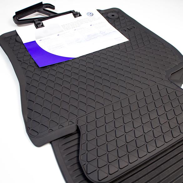pkwmatten passgenaues auto gummimatten 4er set schwarz. Black Bedroom Furniture Sets. Home Design Ideas