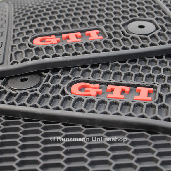 Volkswagen Car Rubber Floor Mats Golf 7 Vii Gti