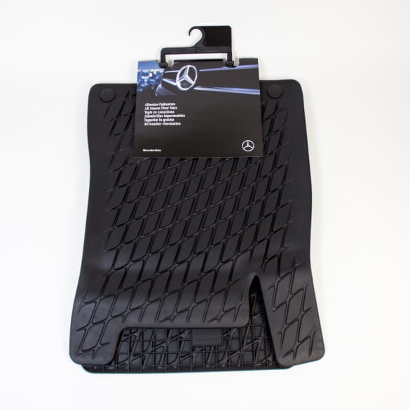 All-season front floor mats GLB X247 genuine Mercedes-Benz
