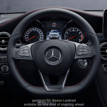 AMG steering wheel cover AMG Logo genuine Mercedes-Benz
