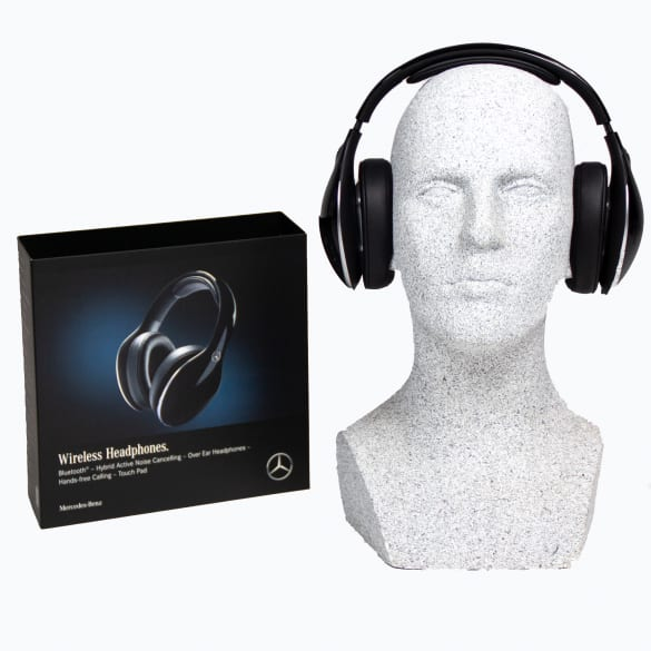 Mercedes-Benz Over-Ear Headphones with Hybird Active Noise Cancelling and Bluetooth®