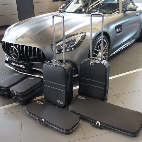Suitcase-set 6 pieces AMG GT Roadster R190 Genuine Roadsterbag