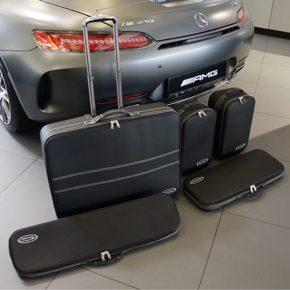 Suitcase-set 5 pieces AMG GT Roadster R190 Genuine Roadsterbag