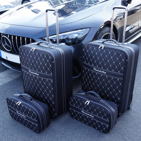 Suitcase-set 4 pieces AMG GT Coupe X290 4-door Genuine Roadsterbag