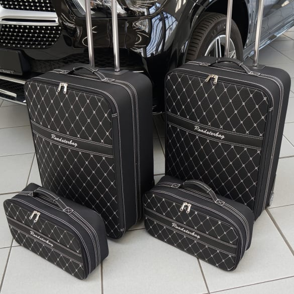 Suitcase-set 4 pieces Mercedes-Benz GLE SUV V167 Genuine Roadsterbag