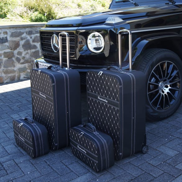 Suitcase-set 4 pieces Mercedes-Benz G-Class W463A Genuine Roadsterbag