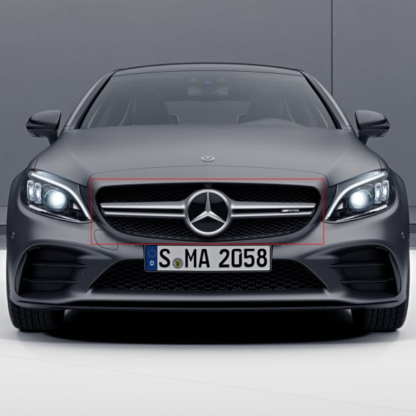 c 43 amg twin blade k hlergrill c klasse 205 facelift. Black Bedroom Furniture Sets. Home Design Ideas