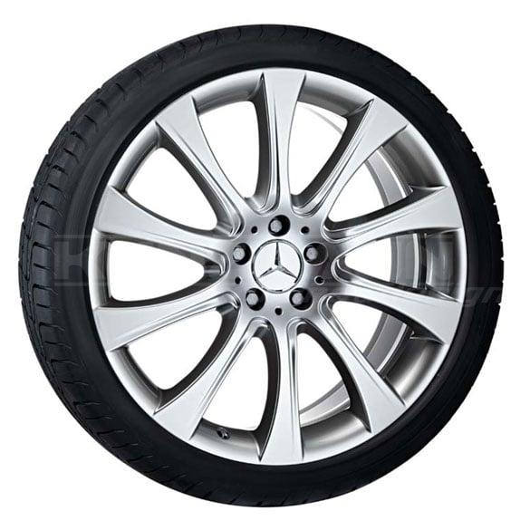 Mercedes Benz Original Rims: 20 Inch Light-alloy Wheels