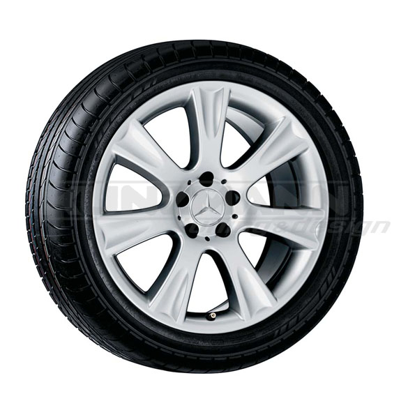 18 inch light alloy wheels menket cls class w219 for Mag wheels for mercedes benz