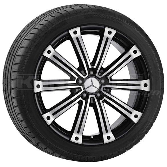 Mercedes benz light alloy wheels tomeko mercedes benz ml for Mag wheels for mercedes benz