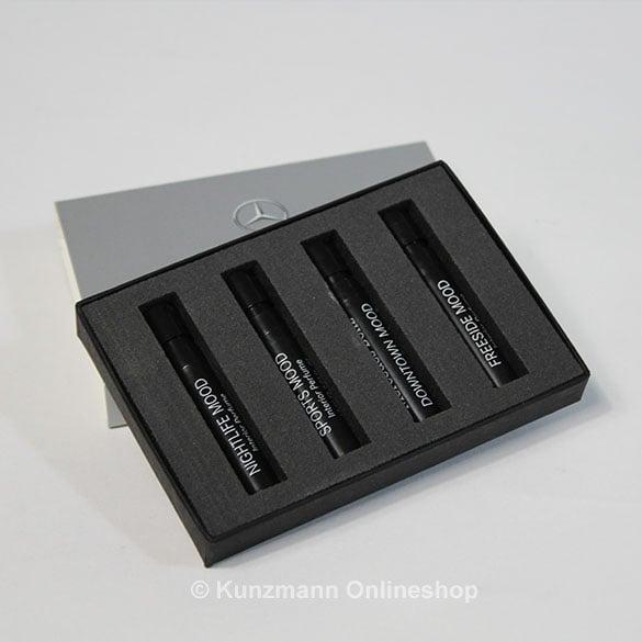 mercedes benz fragrance air balance fragrance tester set. Black Bedroom Furniture Sets. Home Design Ideas