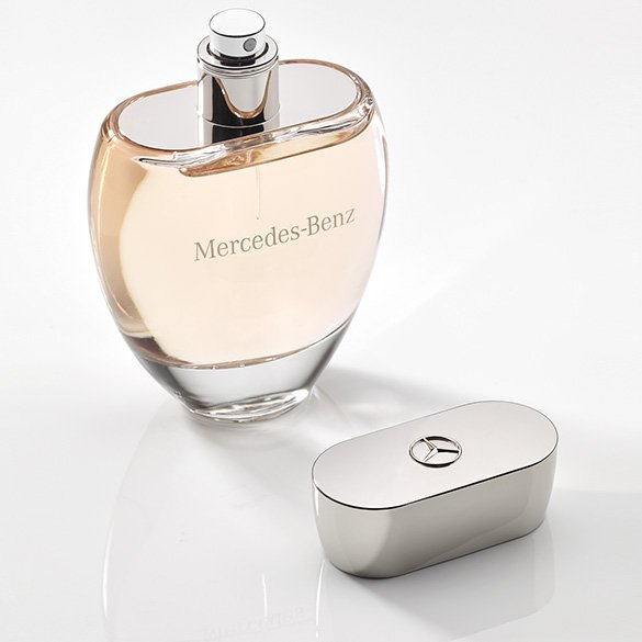 Fruity woman perfume from mercedes benz in the atomizer for Mercedes benz perfume price