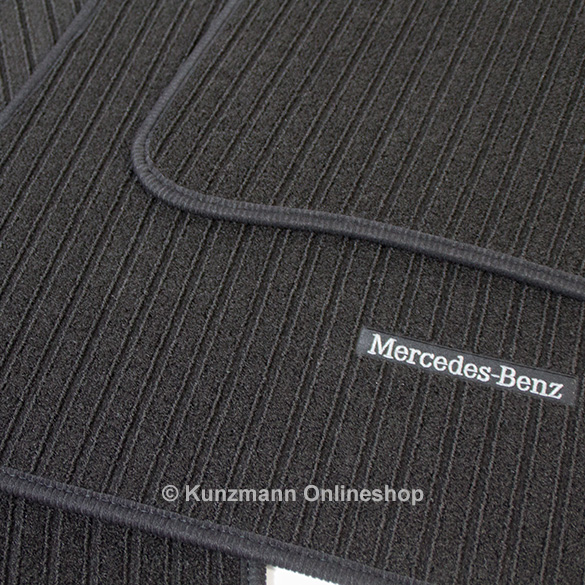 rips fu matten ripsmatte schwarz c klasse w203 original. Black Bedroom Furniture Sets. Home Design Ideas