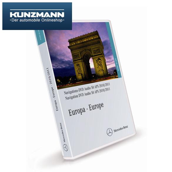 navigations dvd audio 50 aps europa 2010 2011 ntg 2 5 ebay. Black Bedroom Furniture Sets. Home Design Ideas