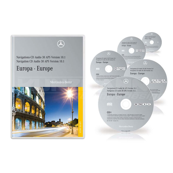Navigations CD Audio 30 APS Europa 10.1 2008 Original Mercedes-Benz