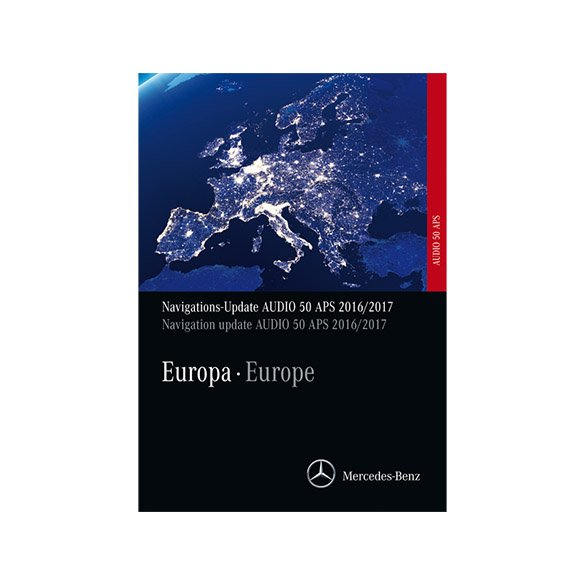 Navigations DVD Audio 50 APS Europa 2017/2018 NTG4-204 Original Mercedes-Benz