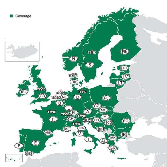 Europa Europe Dvd Navigation Mercedes Benz