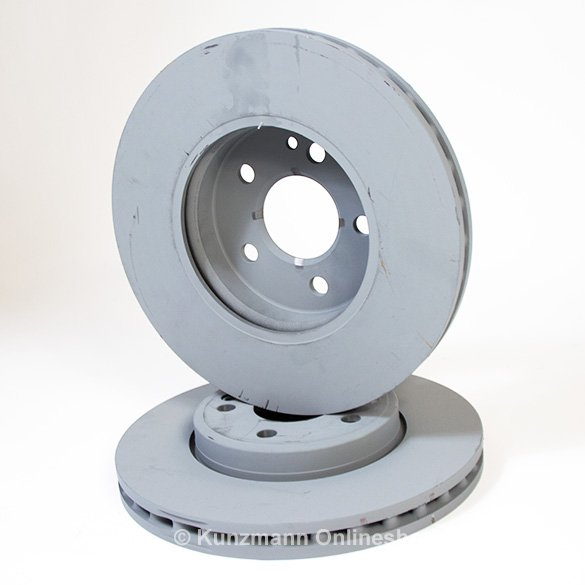 B class taxi front brake discs set b class w246 genuine for Genuine mercedes benz parts
