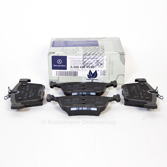 Rear brake pads c class coupe c205 genuine mercedes benz for Genuine mercedes benz parts