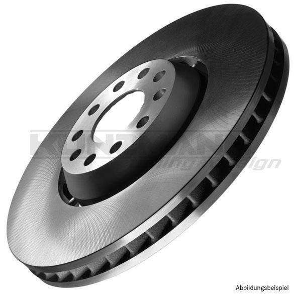 bremsscheiben belüftet vorne 320x30 mm | audi a4 b7 | audi original