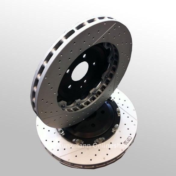 front brake discs c63 amg w204 pp genuine mercedes benz. Black Bedroom Furniture Sets. Home Design Ideas