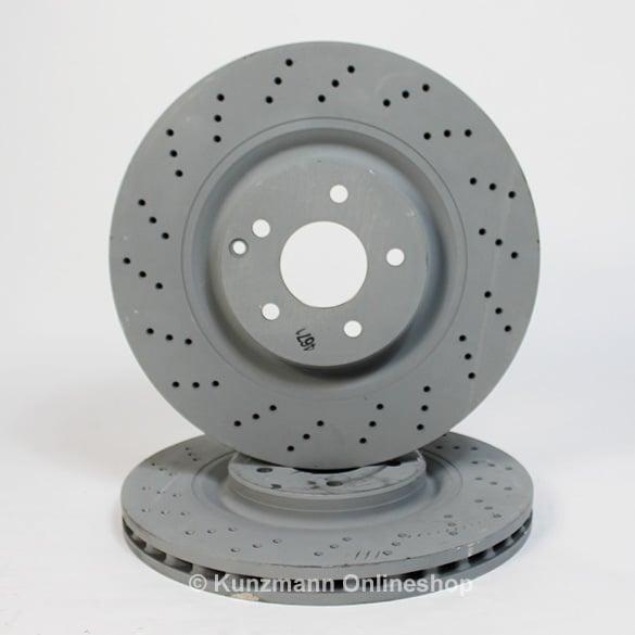 Mercedes Clk Front Brake Discs