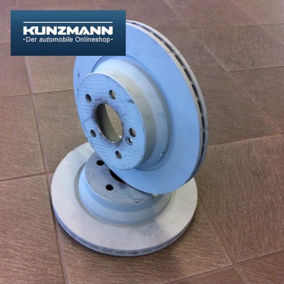 Rear brake disc set e class w211 e 350 4 matic for Mercedes benz genuine parts germany