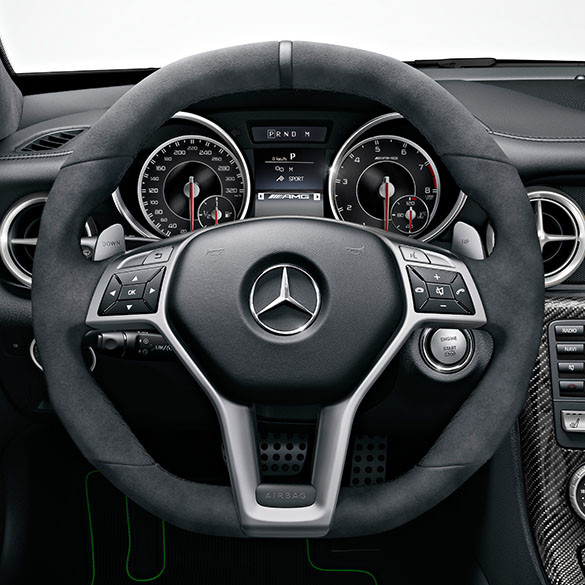 2017 Mercedes Benz Mercedes Amg Slc Suspension: SLK 55 AMG Performance Lenkrad Dunkle Ziernähte C-Klasse