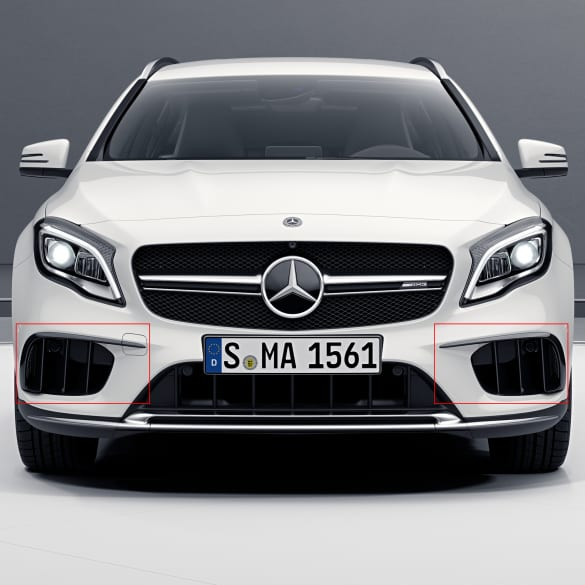 air intake set with flaps Mercedes-Benz GLA 45 AMG X156 facelift
