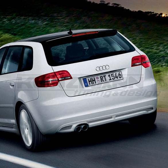 Audi A3 8p Diffuser