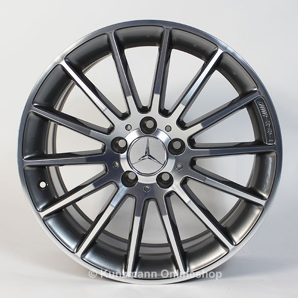 amg 18 inch rim set cla w117 multispoke rims. Black Bedroom Furniture Sets. Home Design Ideas