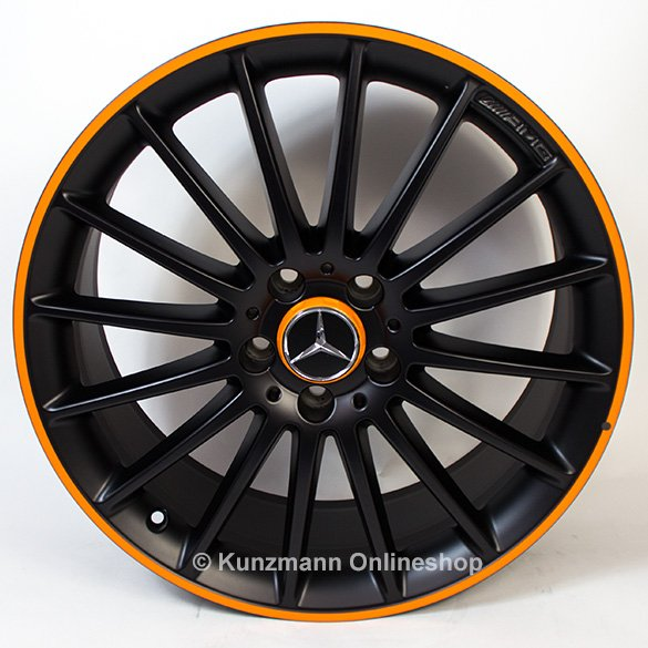 Mercedes C Wheel Size